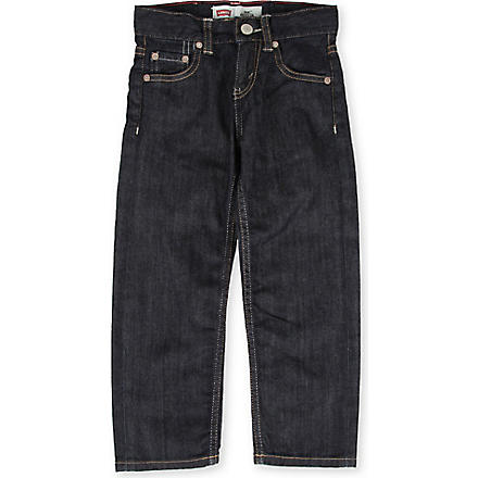 LEVI'S 504 regular fit jeans 2-6 years (Indigo