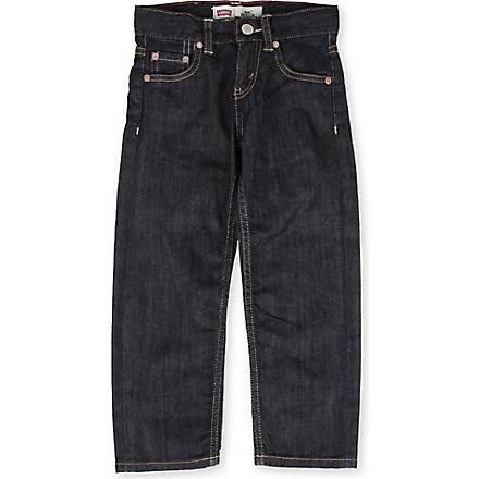LEVI'S 504 regular fit jeans 2-6 years (Indigo
