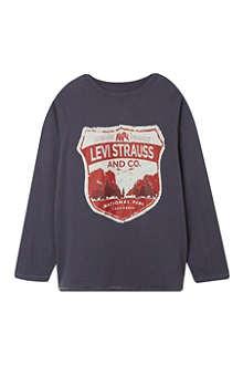 LEVI'S Shield logo t-shirt 2-16 years
