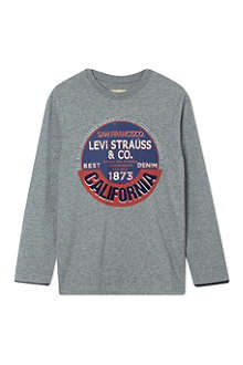 LEVI'S Circle logo t-shirt 2-16 years