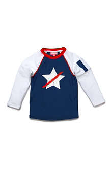 SUNUVA Star rash vest 1-12 years