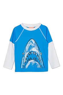 SUNUVA Shark rash vest 1-12 years