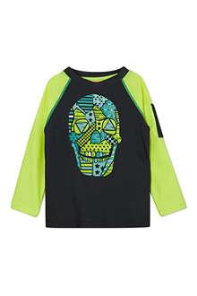 SUNUVA Titanium skull rash vest 1-12 years