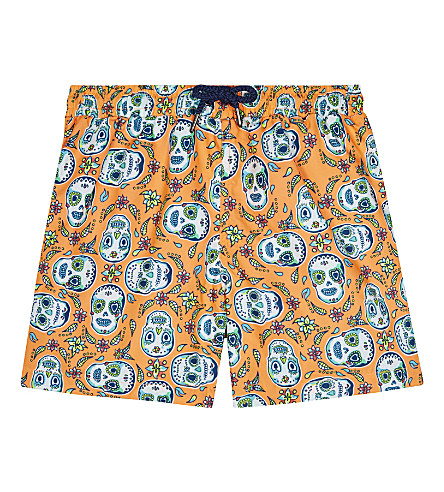 SUNUVA Mexican skull print swim shorts 3-12 years (Mexican+skull