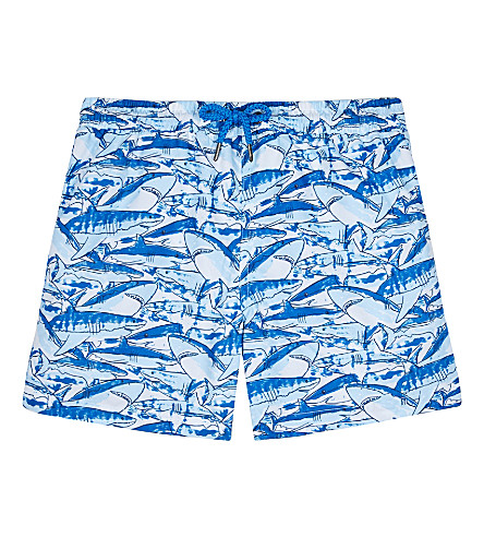 SUNUVA Shark print swim shorts 3-12 years (Shark