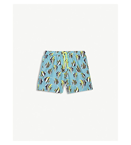 SUNUVA Tropical fish swim shorts 3-12 years (Tropical+fish