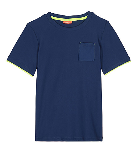 SUNUVA Short-sleeve rash vest 3-12 years (Navy