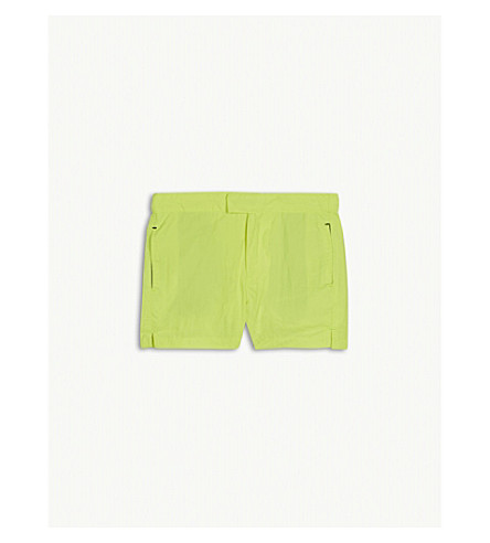 SUNUVA Neon swim shorts 3-12 years (Yellow