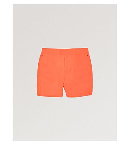SUNUVA Neon swim shorts 3-12 years (Orange