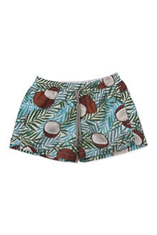 ST BARTHS Coconut swim shorts 4-16 years