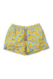 ST BARTHS Rubber duck swim shorts 4-16 years
