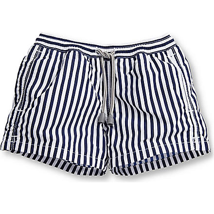 ST BARTHS Stripe swim shorts 2-16 years (Navy