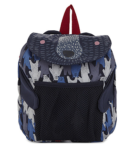JOULES Bear print backpack (Multi+bear+camo