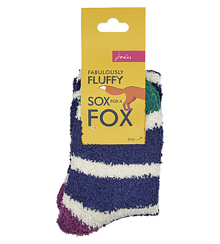 JOULES Fluffy socks (Navy
