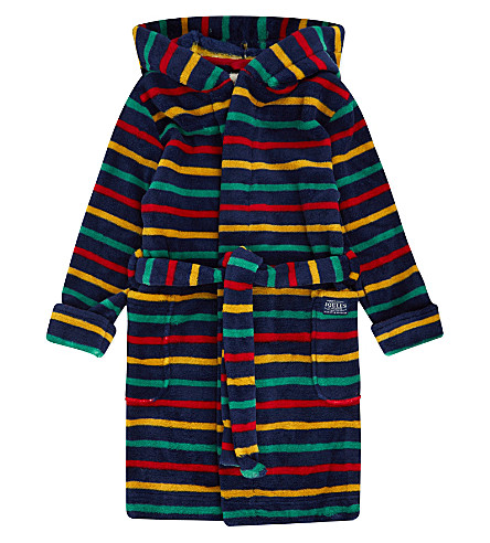 JOULES Striped robe 3-12 years (Multi