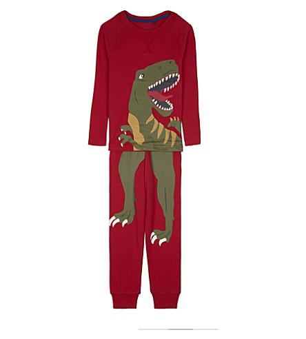 JOULES Kipwell cotton pyjama set 4-12 years (Red