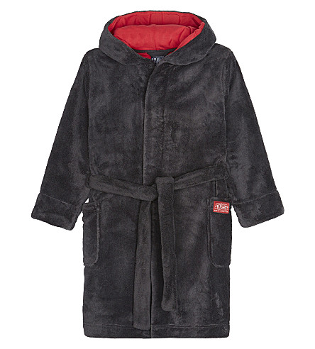 JOULES Lupo character dressing gown 4-12 years (Wolf