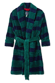 JOULES Fleece dressing gown 2-12 years