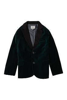 LA MINIATURA Rockstar velvet tuxedo coat 2-14 years