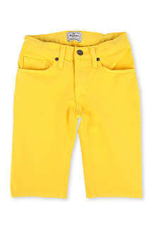 LA MINIATURA Crayon skinny denim shorts 2-14 years