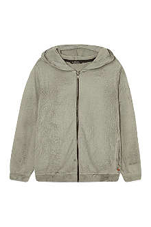 LA MINIATURA Crackle finish hoody 2-14 years