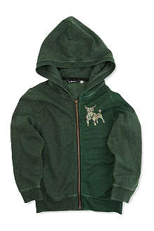 LA MINIATURA Burnout hoody 2-14 years