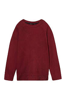 LA MINIATURA Crackle finish sweatshirt 2-14 years