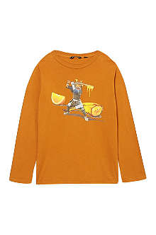 LA MINIATURA Fruit ninja long-sleeved t-shirt 2-14 years