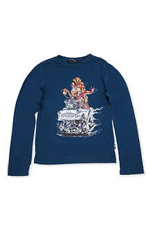 LA MINIATURA Long-sleeved cotton top 2-14 years