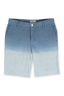 LA MINIATURA Seersucker chino shorts 2-14 years