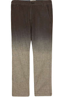 LA MINIATURA Dip-dye trousers 2-14 years