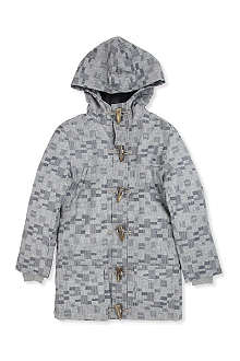 LA MINIATURA Printed toggle parka 2-14 years
