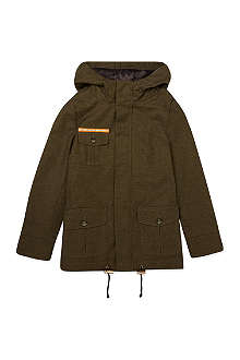 LA MINIATURA Reflective strip parka 2-14 years