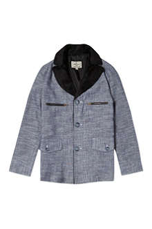 LA MINIATURA Sherpa collar jacket 2-14 years