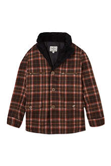 LA MINIATURA Plaid coat 2-14 years