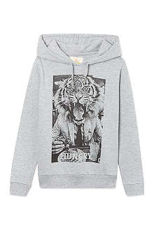 ELEVEN PARIS Tiger hoodie 4-14 years