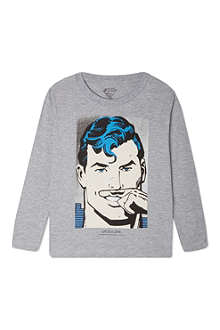ELEVEN PARIS Superman sweatshirt 4-14 years