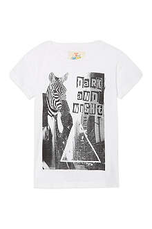 ELEVEN PARIS Zebra t-shirt 4-14 years