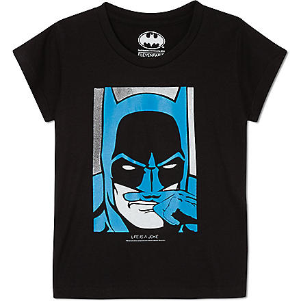 ELEVEN PARIS Little Batman t-shirt 4-14 years (Black