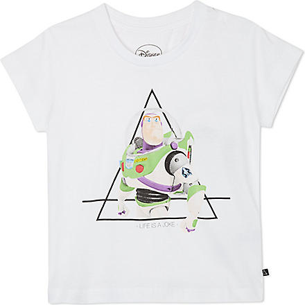 ELEVEN PARIS Little Buzz t-shirt 4-14 years (White