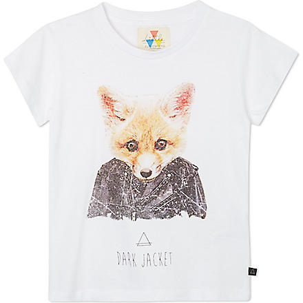 ELEVEN PARIS Little Fox t-shirt 4-14 years (White