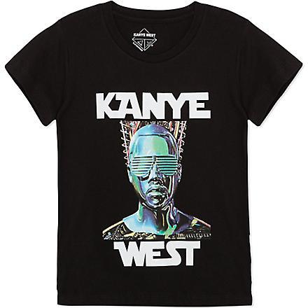 ELEVEN PARIS Kanye West t-shirt 4-14 years (Black