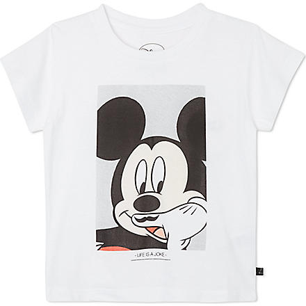 ELEVEN PARIS Little Mickey t-shirt 4-14 years (White