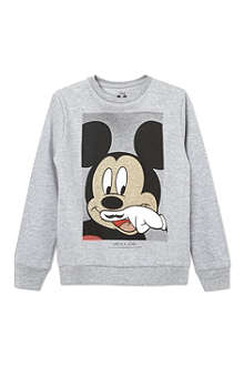 ELEVEN PARIS Little Mickey sweatshirt 4-14 years