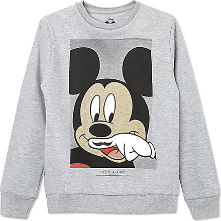 ELEVEN PARIS Little Mickey sweatshirt 4-14 years (Grey