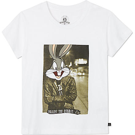 ELEVEN PARIS Little Rabbit t-shirt 4-14 years (White