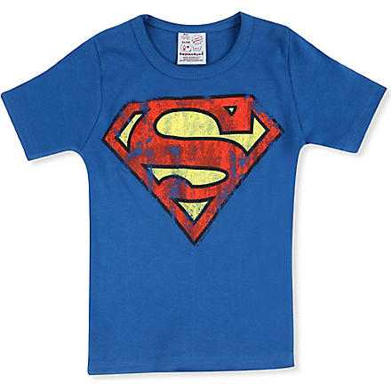 LOGOSHIRT Superman t-shirt 18 months - 12 years (Blue