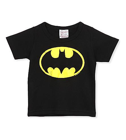LOGOSHIRT Batman logo t-shirt 18 months-12 years (Black