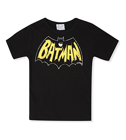 LOGOSHIRT Batman t-shirt 18 months - 12 years (Black