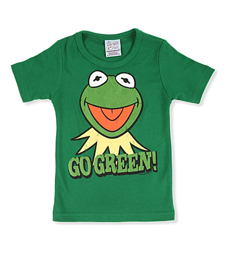 LOGOSHIRT Kermit Go Green t-shirt 18 months - 12 years (Green